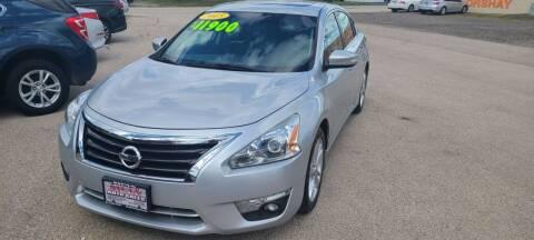 2015 Nissan Altima for sale at Swan Auto in Roscoe IL