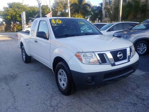 2016 Nissan Frontier for sale at Brascar Auto Sales in Pompano Beach FL