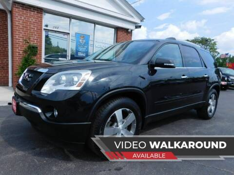 2012 GMC Acadia for sale at Delaware Auto Sales in Delaware OH