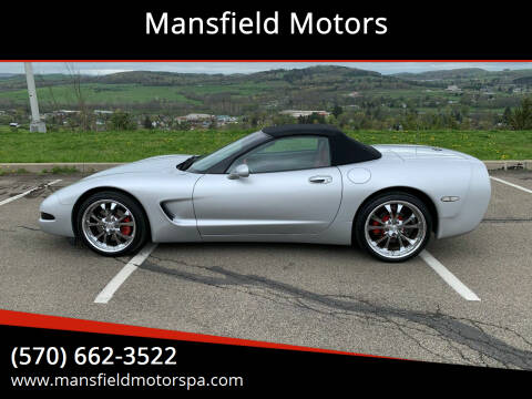 2002 Chevrolet Corvette for sale at Mansfield Motors in Mansfield PA