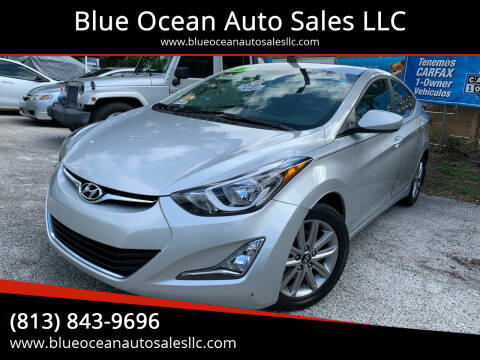 2014 Hyundai Elantra for sale at Blue Ocean Auto Sales LLC in Tampa FL