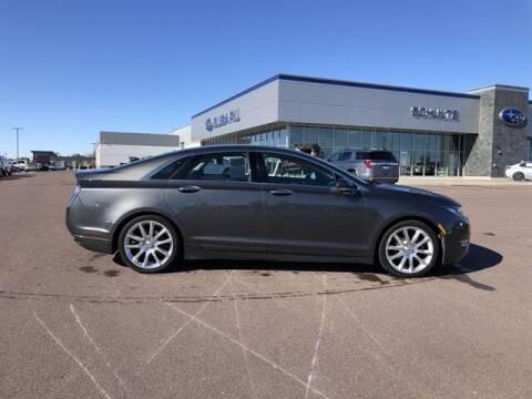 2016 Lincoln MKZ Hybrid for sale at Schulte Subaru in Sioux Falls SD