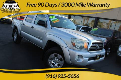 2010 Toyota Tacoma for sale at West Coast Auto Sales Center in Sacramento CA