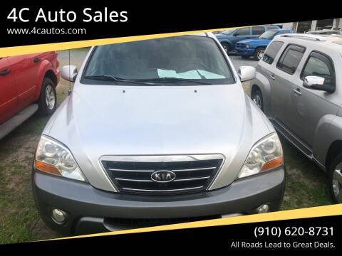 2008 Kia Sorento for sale at 4C Auto Sales in Wilmington NC