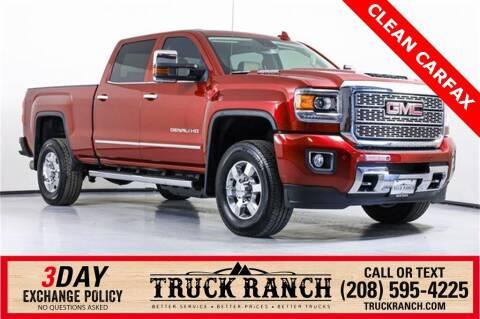 2018 GMC Sierra 3500HD for sale at Truck Ranch in Twin Falls ID