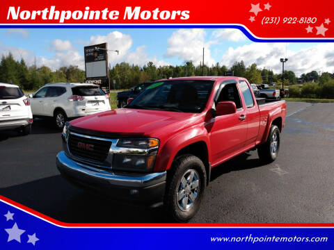 2011 GMC Canyon for sale at Northpointe Motors in Kalkaska MI