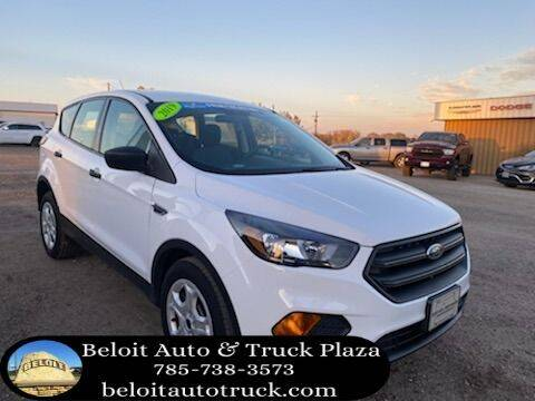 2019 Ford Escape for sale at BELOIT AUTO & TRUCK PLAZA INC in Beloit KS