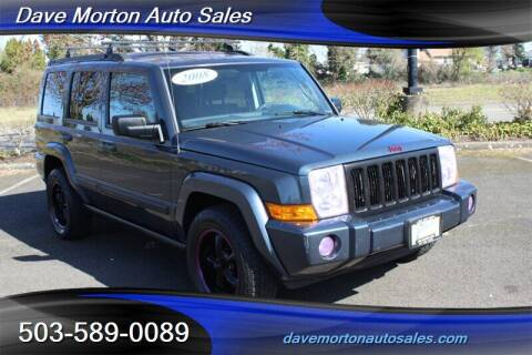 2008 Jeep Commander for sale at Dave Morton Auto Sales in Salem OR