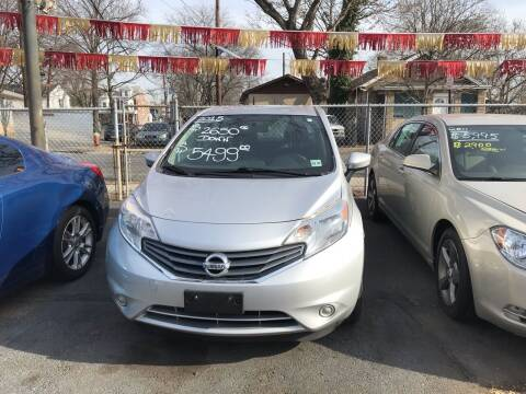 2015 Nissan Versa Note for sale at Chambers Auto Sales LLC in Trenton NJ