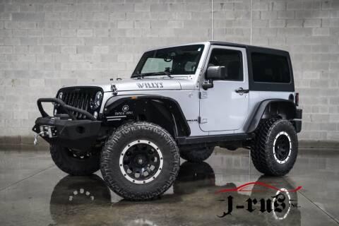 2014 Jeep Wrangler for sale at J-Rus Inc. in Macomb MI