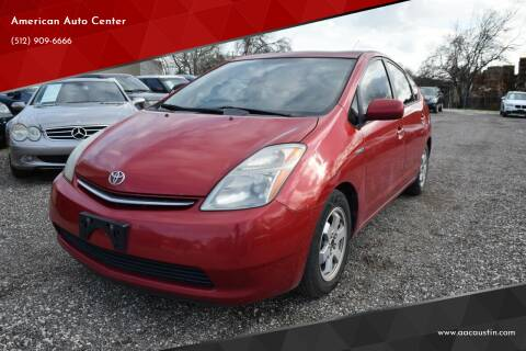 2008 Toyota Prius for sale at American Auto Center in Austin TX