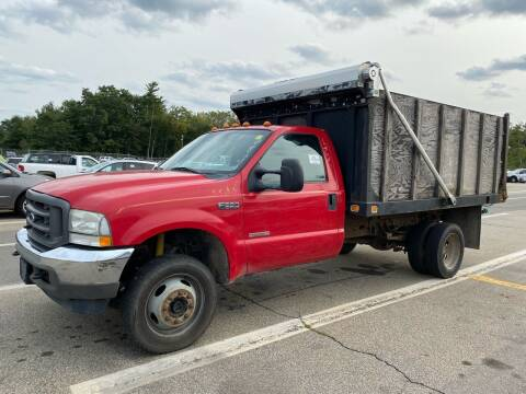 2004 Ford F-550 Super Duty for sale at Amherst Street Auto in Manchester NH
