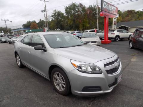 2013 Chevrolet Malibu for sale at Comet Auto Sales in Manchester NH