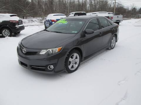 2013 Toyota Camry for sale at WORKMAN AUTO INC in Pleasant Gap PA