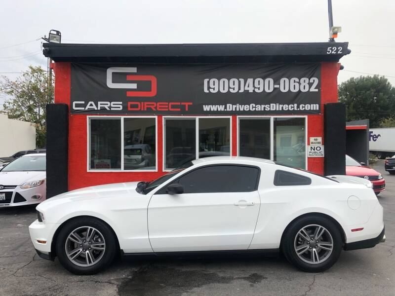 2012 Ford Mustang for sale at Cars Direct in Ontario CA