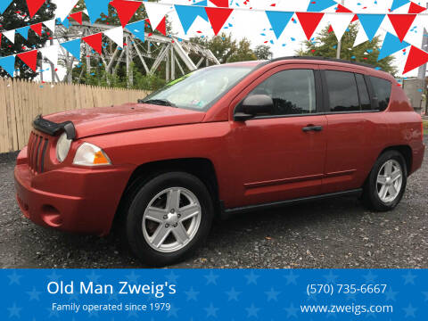 2008 Jeep Compass for sale at Old Man Zweig's in Plymouth Township PA