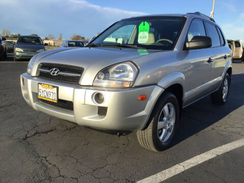 2006 Hyundai Tucson for sale at My Three Sons Auto Sales in Sacramento CA