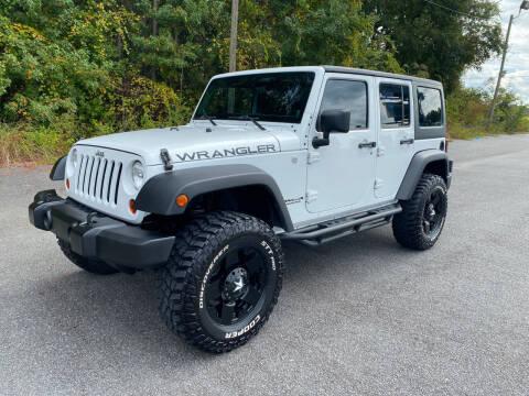 2013 Jeep Wrangler Unlimited for sale at Autoteam of Valdosta in Valdosta GA