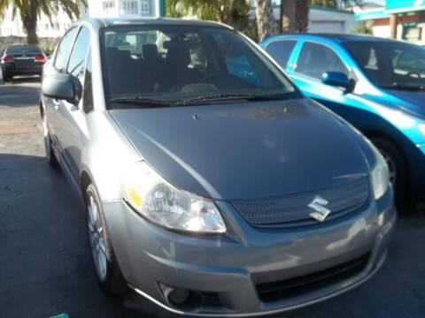 2008 Suzuki SX4 for sale at PJ's Auto World Inc in Clearwater FL