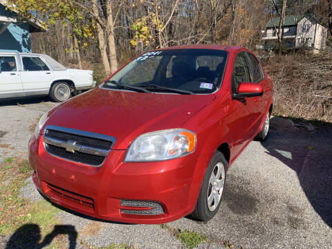 2011 Chevrolet Aveo for sale at LONGWOOD MOTORS in Stockholm NJ
