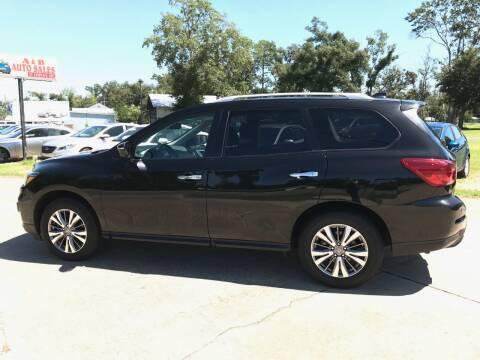 2019 Nissan Pathfinder for sale at A & B Auto Sales of Chipley in Chipley FL