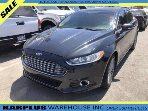 2013 Ford Fusion for sale at Karplus Warehouse in Pacoima CA