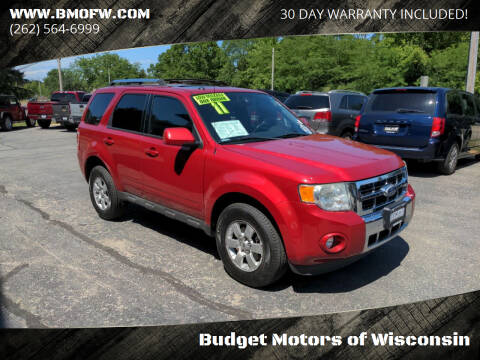 2011 Ford Escape for sale at Budget Motors of Wisconsin in Racine WI