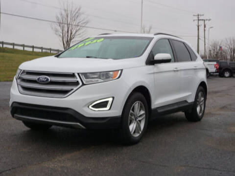 2017 Ford Edge for sale at FOWLERVILLE FORD in Fowlerville MI