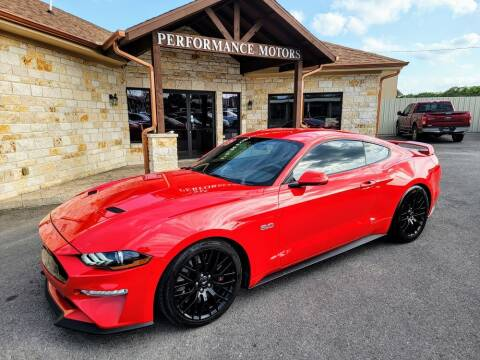 2019 Ford Mustang for sale at Performance Motors Killeen Second Chance in Killeen TX