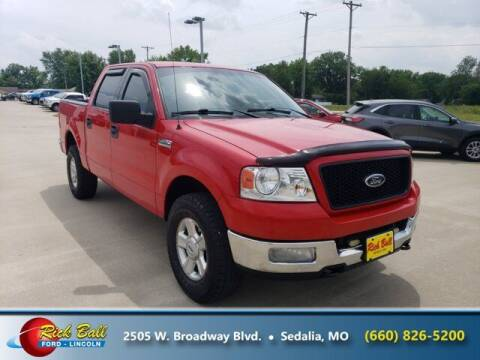 2004 Ford F-150 for sale at RICK BALL FORD in Sedalia MO