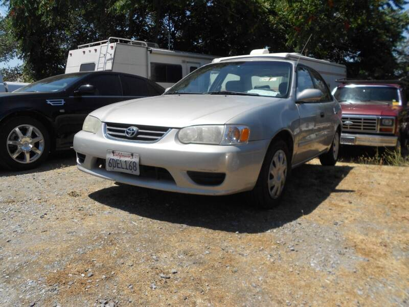 2002 Toyota Corolla for sale at Mountain Auto in Jackson CA