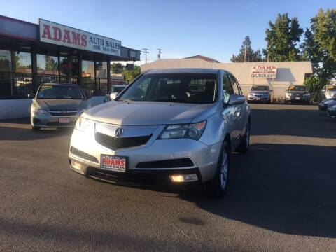 2013 Acura MDX for sale at Adams Auto Sales in Sacramento CA