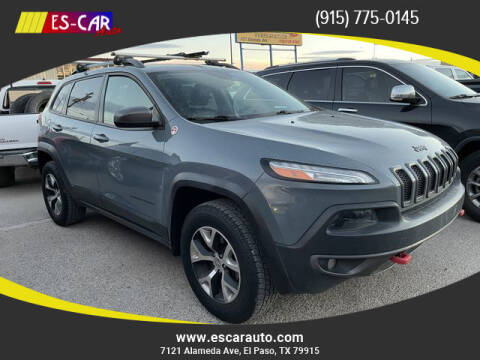 2014 Jeep Cherokee for sale at Escar Auto in El Paso TX