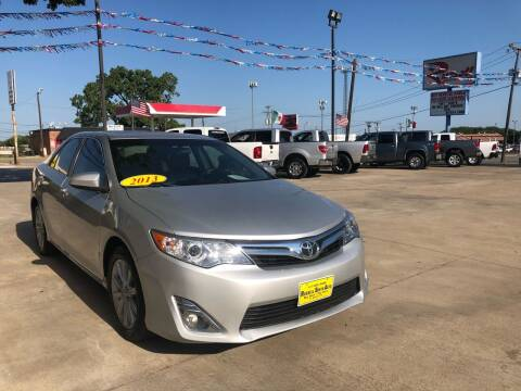 2013 Toyota Camry for sale at Russell Smith Auto in Fort Worth TX