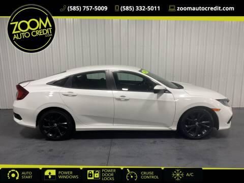 2019 Honda Civic for sale at ZoomAutoCredit.com in Elba NY