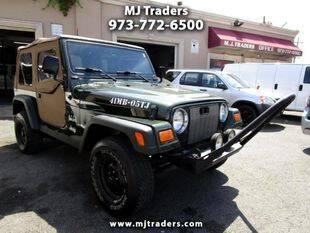 2005 Jeep Wrangler for sale at M J Traders Ltd. in Garfield NJ