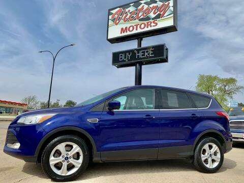 2015 Ford Escape for sale at Victory Motors in Waterloo IA