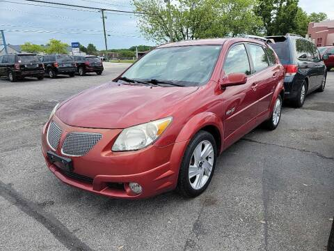 2005 Pontiac Vibe for sale at Lakeshore Auto Wholesalers in Amherst OH