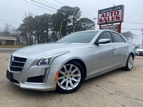 2014 Cadillac CTS for sale at Carafello's Auto Sales in Norfolk VA