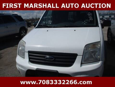 2013 Ford Transit Connect for sale at First Marshall Auto Auction in Harvey IL