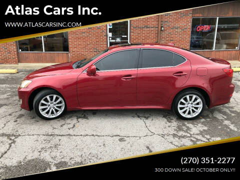2007 Lexus IS 250 for sale at Atlas Cars Inc. in Radcliff KY
