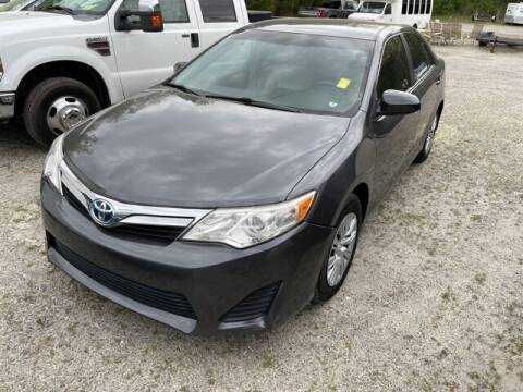 2014 Toyota Camry Hybrid for sale at BILLY HOWELL FORD LINCOLN in Cumming GA