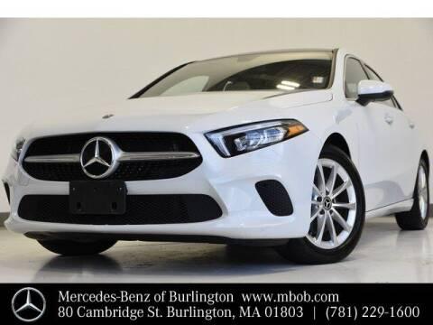 2021 Mercedes-Benz A-Class for sale at Mercedes Benz of Burlington in Burlington MA