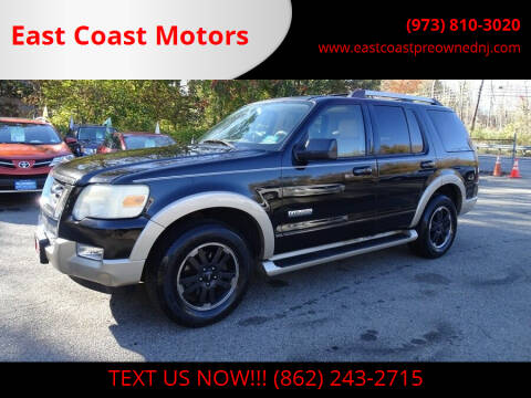 2006 Ford Explorer for sale at East Coast Motors in Lake Hopatcong NJ