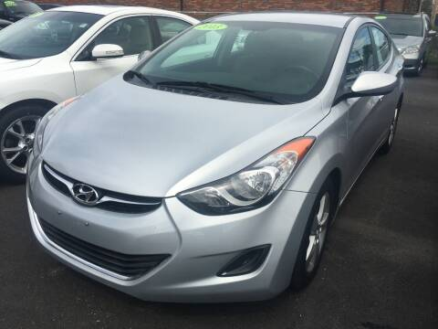 2013 Hyundai Elantra for sale at Dijie Auto Sale and Service Co. in Johnston RI
