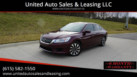 2015 Honda Accord Hybrid for sale at United Auto Sales & Leasing LLC in La Vergne TN