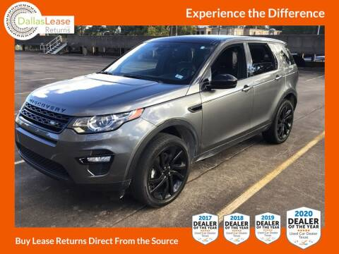 2016 Land Rover Discovery Sport for sale at Dallas Auto Finance in Dallas TX