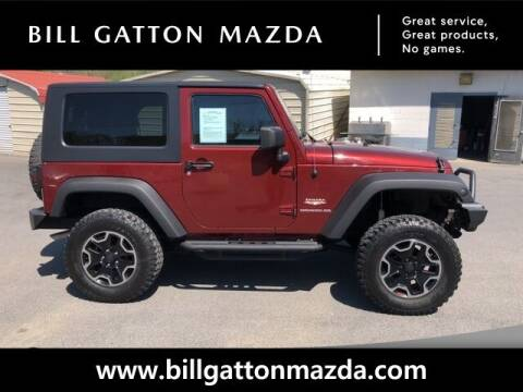 2008 Jeep Wrangler for sale at Bill Gatton Used Cars - BILL GATTON ACURA MAZDA in Johnson City TN