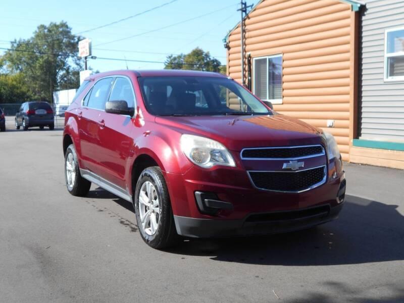 2010 Chevrolet Equinox for sale at MT MORRIS AUTO SALES INC in Mount Morris MI