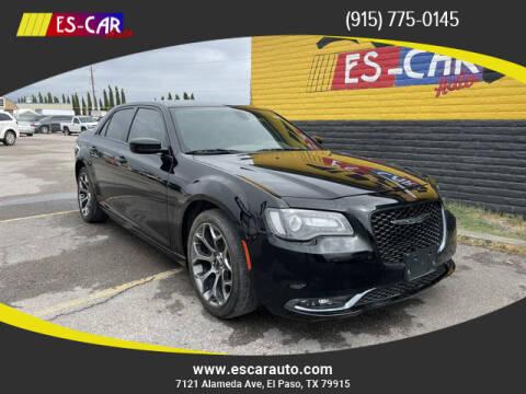 2018 Chrysler 300 for sale at Escar Auto in El Paso TX